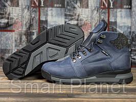 Зимние мужские ботинки 31051, Diesel Denim Division, темно-синие, < 40 42 43 44 45 > р. 40-26,2см.