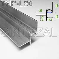 Алюминиевый LED-профиль Sintezal TNP-L20 – эксклюзивное решение для теневых швов