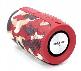 Беспроводная Bluetooth колонка Zealot S32 5W (Камуфляж красный)