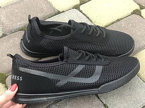 Кроссовки мужские черные летние из сетки PR-G 45 р. 29,5 см (1161320050), фото 2