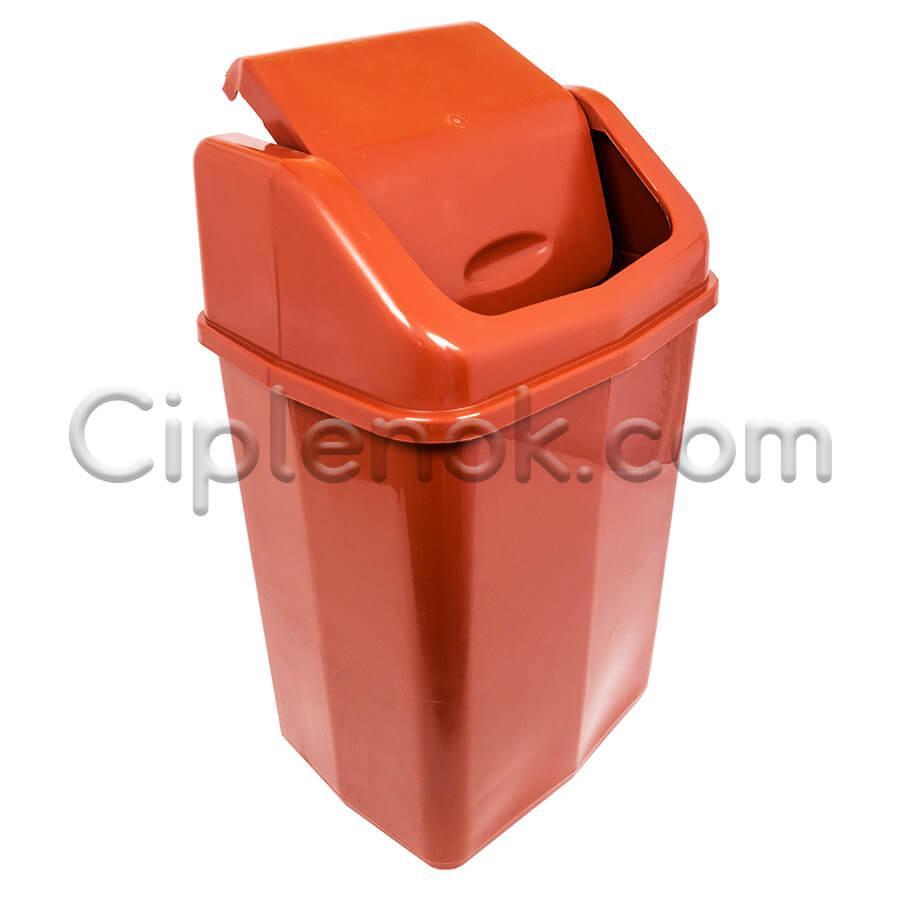 Ведро для мусора с поворотной крышкой на 25 л