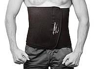 Пояс для похудения PowerPlay, неопрен, нейлон, р-р 125х30см, черный (PP_4301_125см_Black)