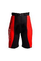 Пояс для похудения PowerPlay, неопрен, р-р S-XL, черный (PP_4304_Black/Red)