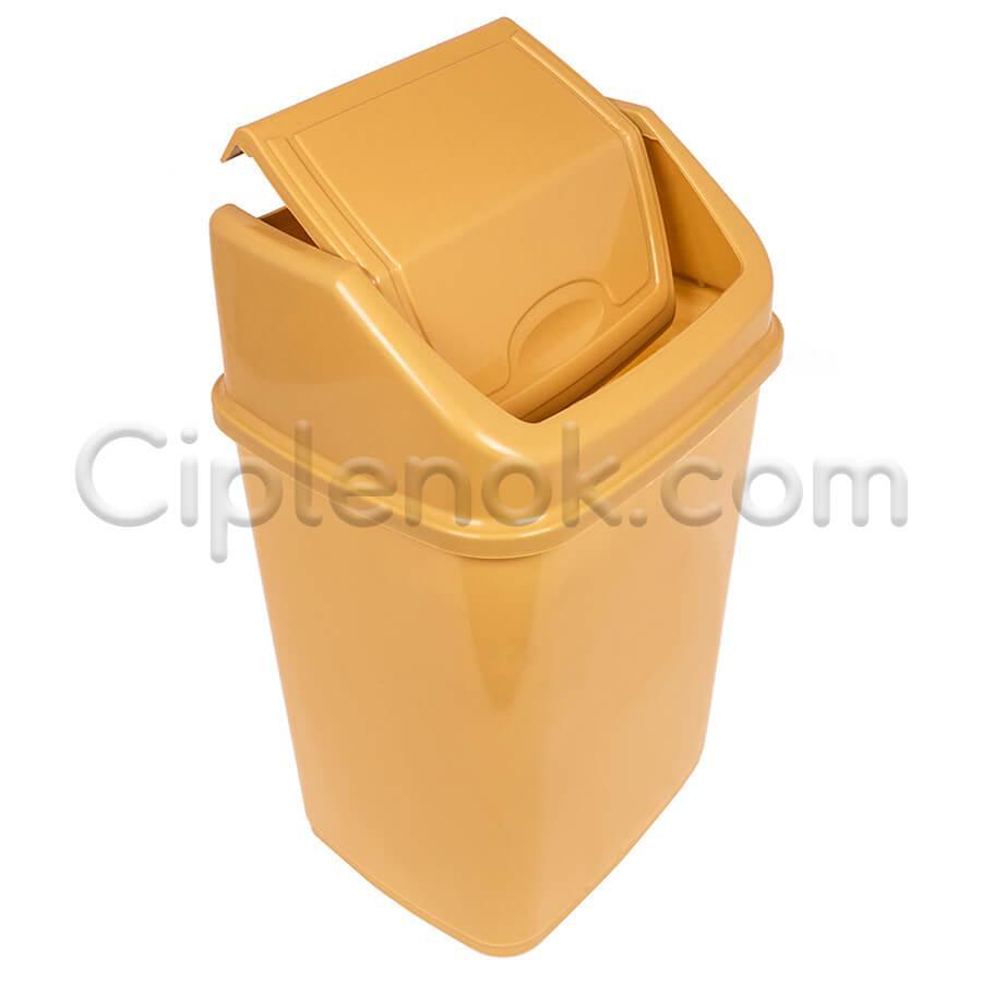 Ведро для мусора с поворотной крышкой на 4,2 л