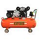 Компресор ремінною V 2.5 кВт 378л/хв 8бар 100л (2 крана) Grad (7044185)