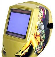 """Маска-хамелеон """"WH 9801"""" с девушкой + комплект стёкол"""