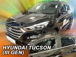 Дефлектори вікон (вітровики) Hyundai Tucson 2015-> 4шт (Heko)