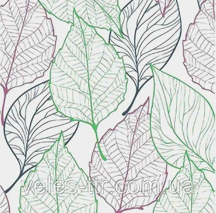 """Салфетки для декупажа """"Весенние листья"""" цветной 33*33 см №364"""