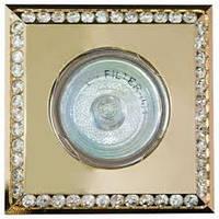 Встраиваемый светильник Feron  DL 102-c прозрачный золото MR16