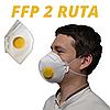 Респиратор с клапаном Рута FFP2