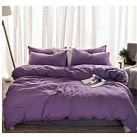 Комплекты постельного белья Сливовый, поплин, разные размеры