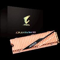 Твердотельный накопитель M.2 500Gb, Gigabyte AORUS Gen4, PCI-E 4.0 4x, 3D TLC, 5000/2500 MB/s (GP-ASM2NE6500GTTD)