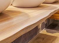 Столешница с живым краем деревянная Лиственница 40мм, фото 1