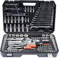 Набор инструментов YATO 150 предметов 1/4″, 3/8″, 1/2″ YT-38811.