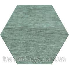 Плитка универсальная Bestile Atlas Hexa Aguamarina 25,8х29 зеленый 443425
