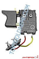 Кнопка для шуруповерта аккумуляторного Интерскол ДА-12, ДА-14,4, ДА-18