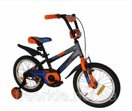 Дитячий Велосипед Azimut Stitch 16, фото 2