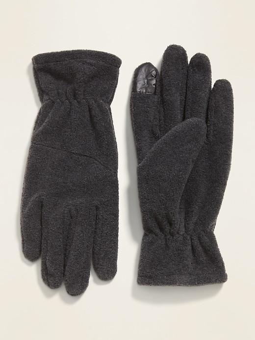 Перчатки мужские флисовые Old Navy сенсорные для смартфона Тач Скрин США L/XL