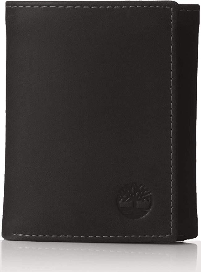 Кожаный мужской кошелек Timberland портмоне натуральная кожа оригинал США