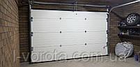 Секционные гаражные ворота DoorHan ш3200мм, в2100мм (цвет махагон), фото 4