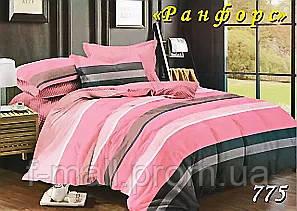 Двуспальное постельное белье Тет-А-Тет (Украина)  ранфорс (775)