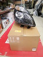 Фара главного света передняя правая черная Renault Scenic 3 (Original 260108250R)