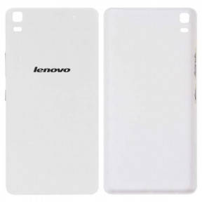 Задняя крышка Lenovo A7000, A7000 Plus, A7000 Turbo, K3 Note (K50-T3sK50-T5) белая, фото 2