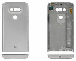 Задняя крышка LG H820 G5, H830, H840, H850, US992, VS987 серебристая Оригинал Китай