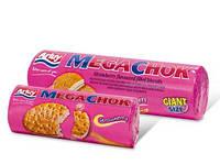 Печенье сэндвич Arluy Megachok с клубничной начинкой 180 г