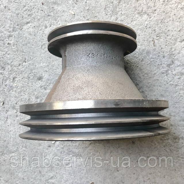 Шкив 3-х руч. двигателя КЗС-1218