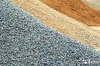 Доставка песка, щебня, цемента
