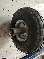 Колесо для тачки пневматическое 3.50-4 с трубкой, фото 1