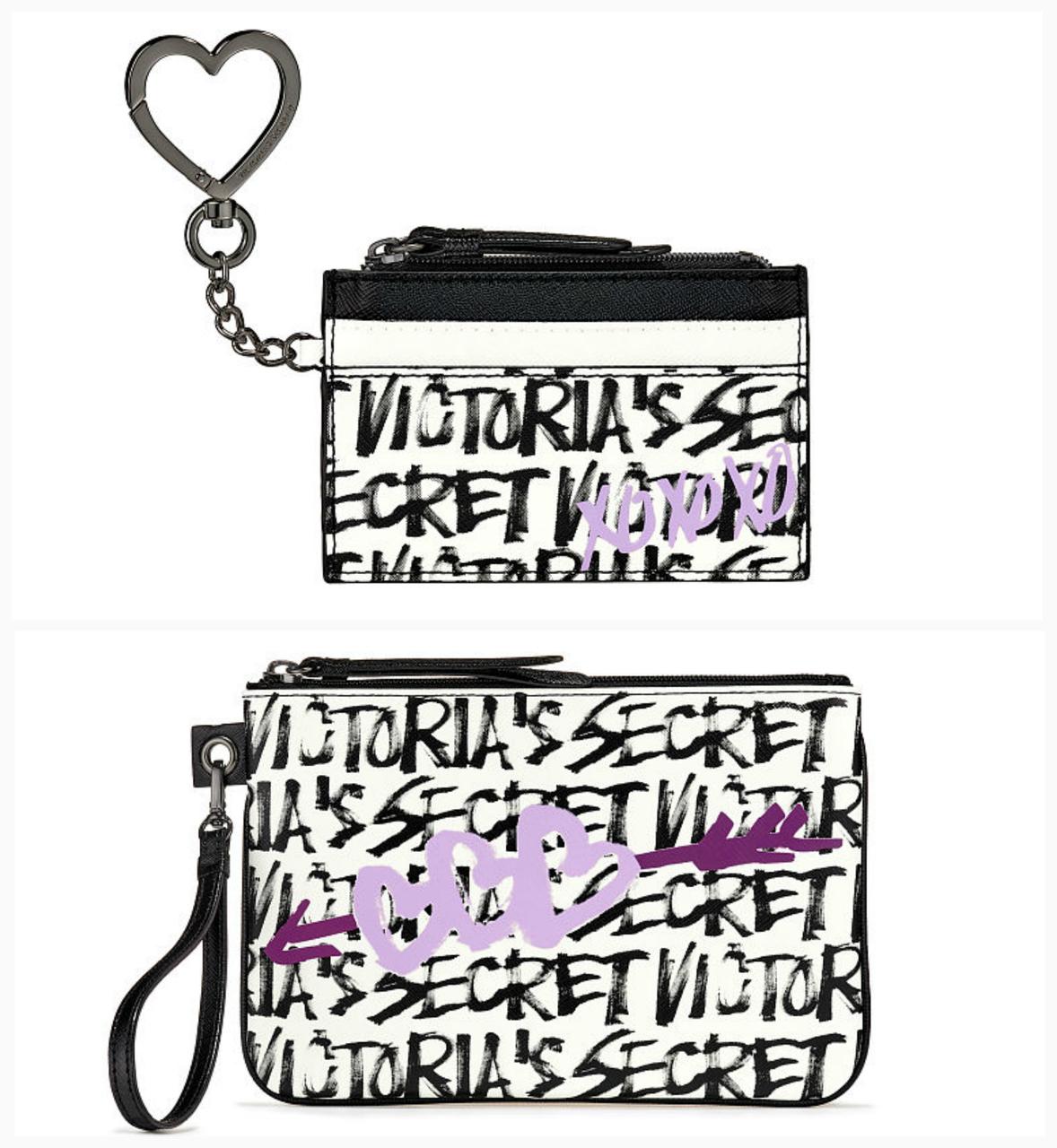 Набор клатч и кардхолдер мини кошелек Victorias Secret Виктория Сикрет