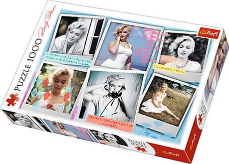 Пазл 1000 Trefl Photographs of Mailyn Monroe / Фото Мерілін Монро, фото 2