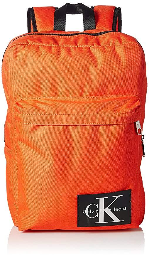 Рюкзак мужской Calvin Klein Оригинал оранжевый Келвин Кляйн США мужские рюкзаки фирменные