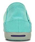 Мокасины Crocs женские бирюзовые US 5 EUR 34 35 слипоны балетки оригинал крокс США, фото 3