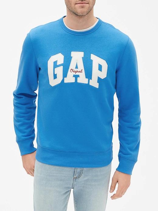 Свитшот мужской GAP реглан мужская кофта оригинал Гэп США XXL