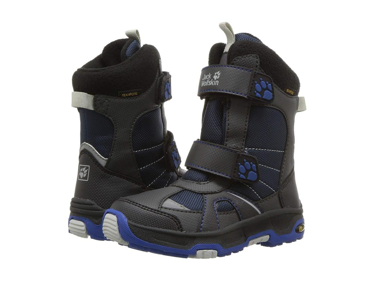 Зимние деткие термо сапоги ботинки Jack Wolfskin US 9 EUR 27 стелька 17 см