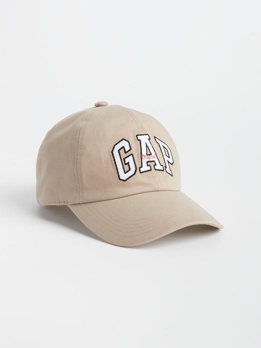 Кепка бейсболка GAP оригинал из США мужская женская кепки унисекс (бежевая)