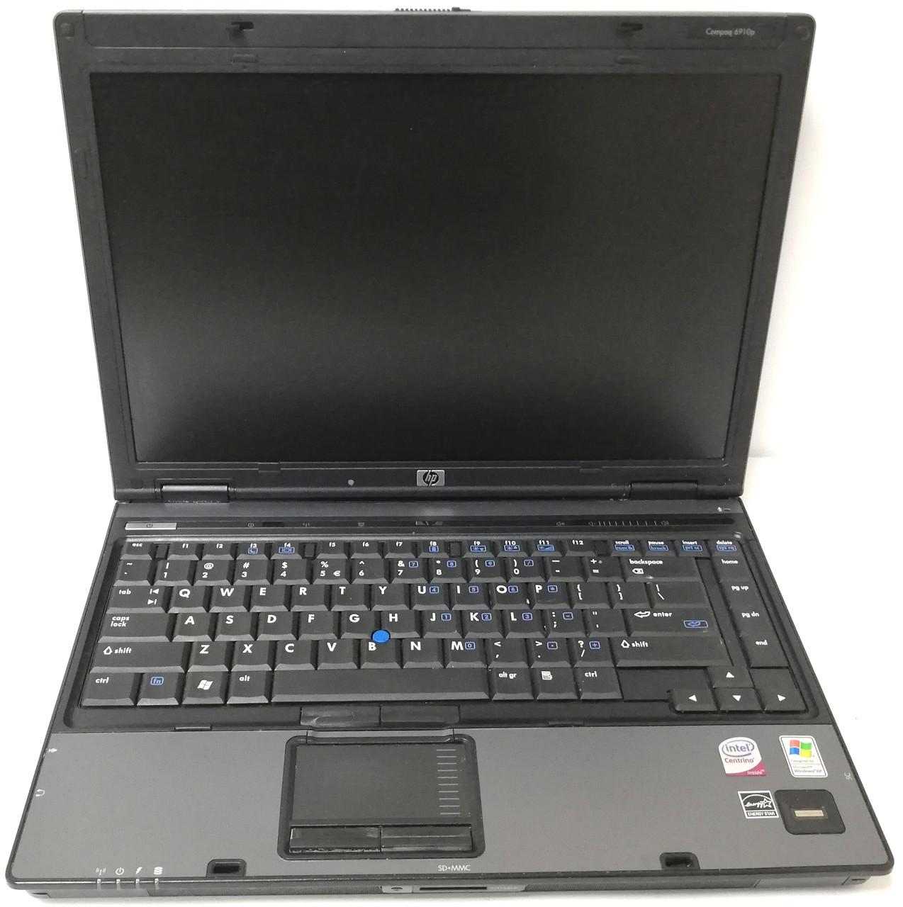"Ноутбук HP Compaq 6910P 14.1"" Intel Core 2 Duo T7500 2,2 ГГц 1 ГБ Б/У"