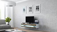 ТВ тумба RTV VIGO NEW MINI 140 (білий/латте) (CAMA)