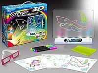 Доска для рисования Magic 3D 4 в 1.