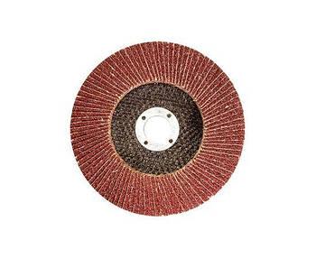 Диск пелюстковий конічний125хх22,2 зерн. А120, Т29 WERK (WE107103) (36138)