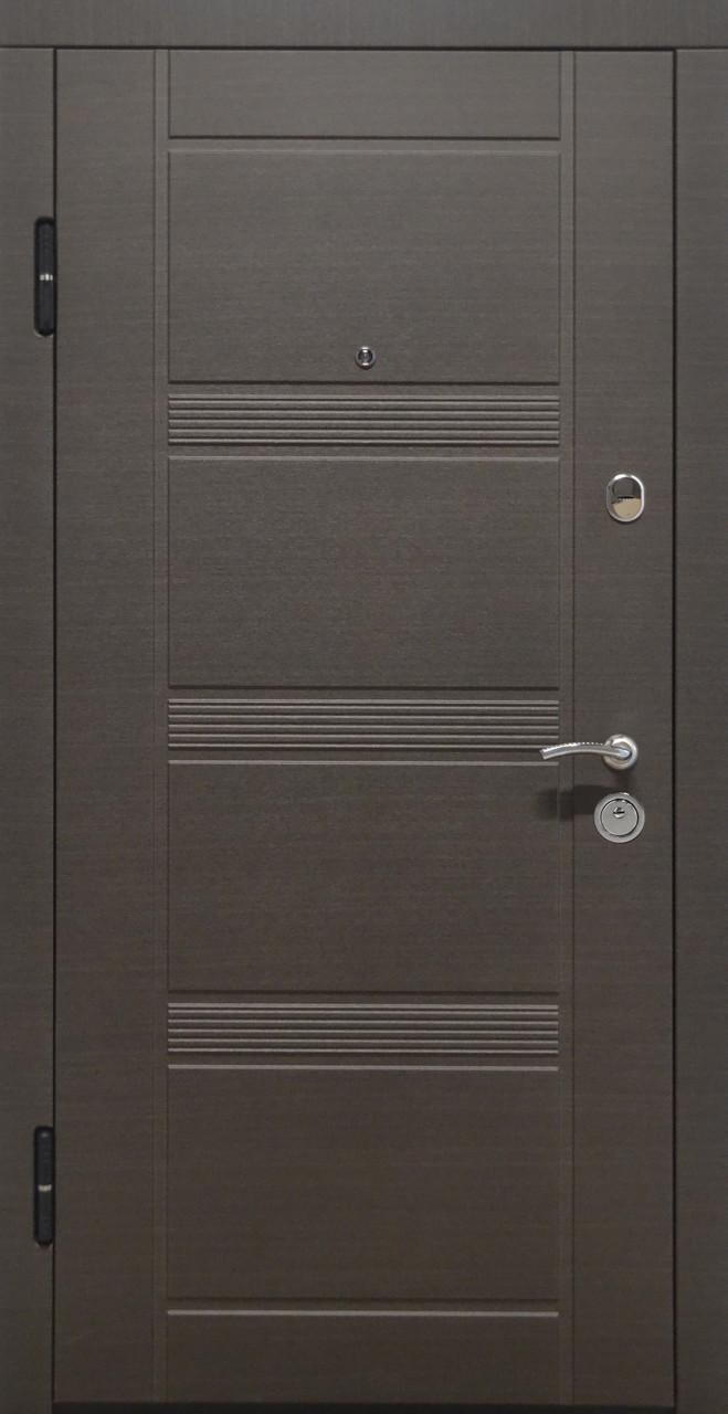 Дверь входная «Министерство Дверей»— ПО-29. Венге серый горизонт