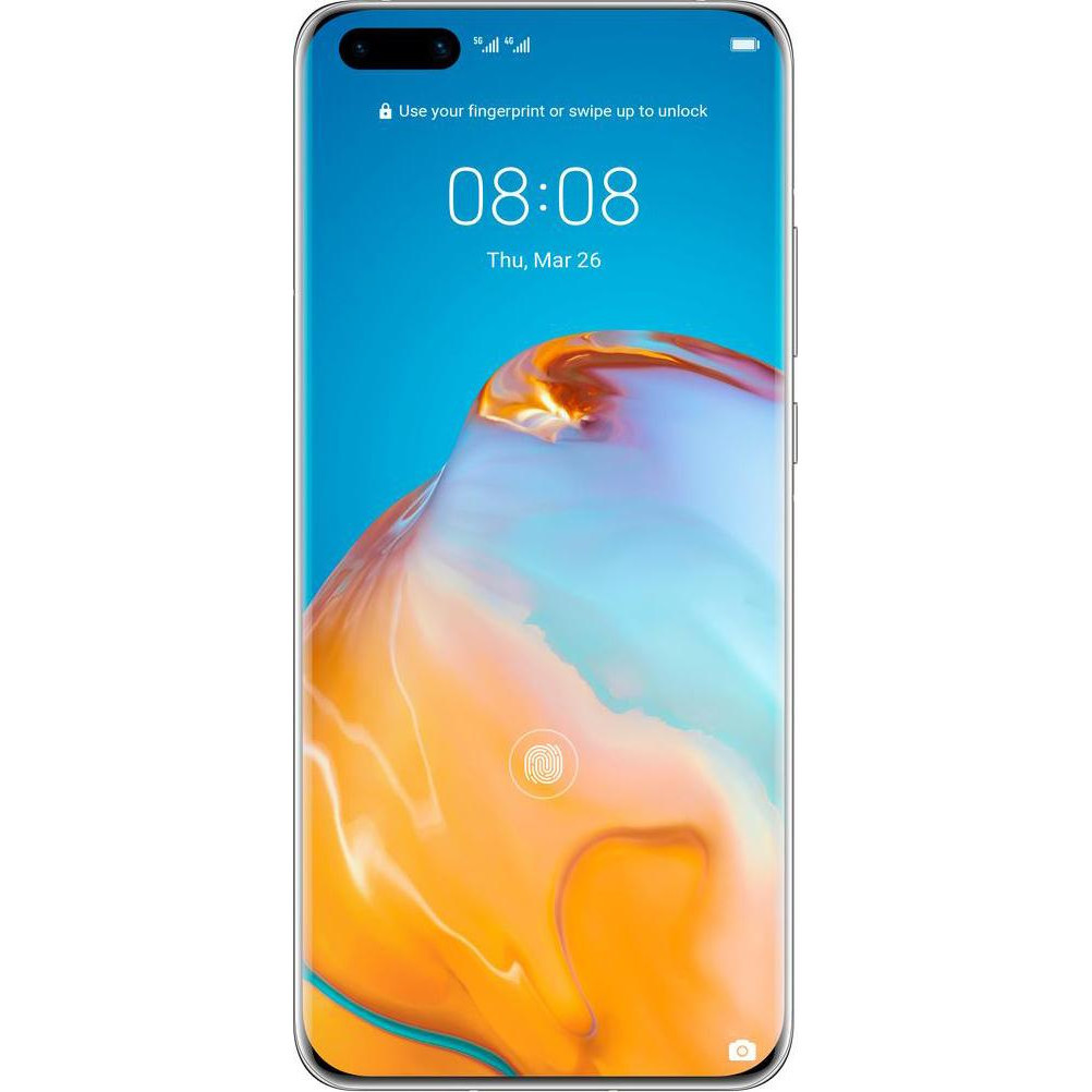 Смартфон HUAWEI P40 8/128GB Ice White (51095EJB) UA