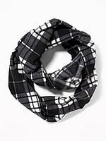 Женский флисовый шарф снуд Old Navy США хомут баф теплый флис