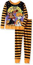 Пижама детская 1 2 3 года EU 80 86 Щенячий патруль Paw Patrol пижамы детские оранжевый