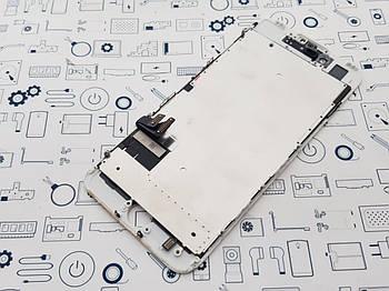 Дисплей Apple iPhone 7 модуль белый Сервисный оригинал с разборки