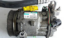 Компрессор кондиционера Peugeot 407 2.0 HDI 2008 гг 9683055180