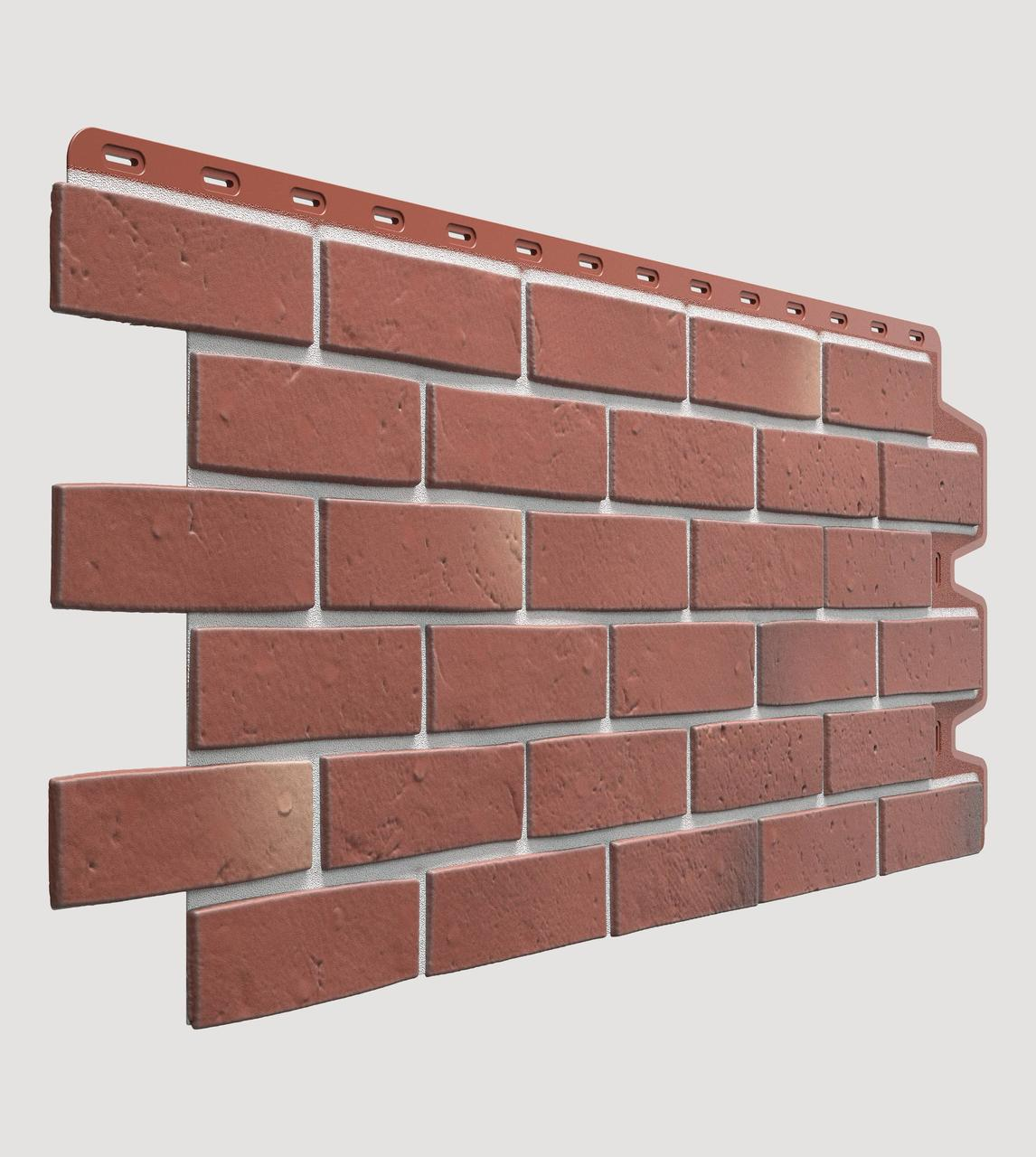 Фасадная панель Docke Berg рубиновый (под кирпич)